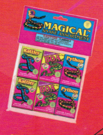 Magical Snake Assortment - BUY ONE GET ONE FREE!