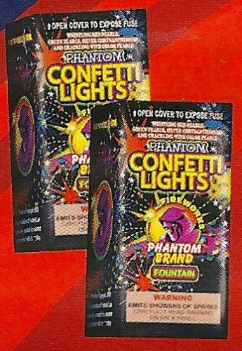 Confetti Lights Fountain - BUY ONE GET ONE FREE!