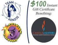 $100 Phantom Fireworks Electronic Gift Certificate