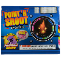 NEW! Point N Shoot Fountain