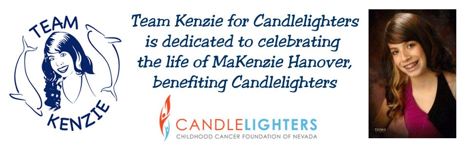 Team Kenzie for Candlelighters