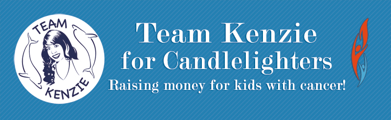 Team Kenzie for Candlelighters Banner