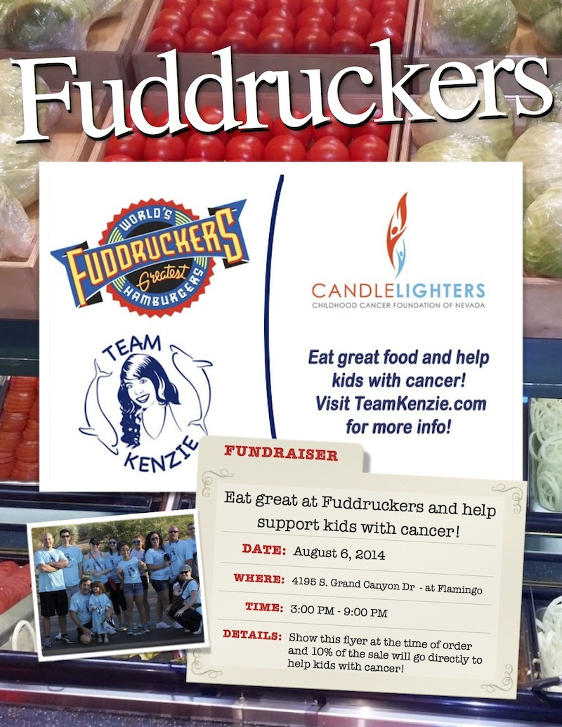 Fuddruckers Flyer Image